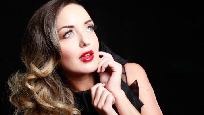 Glamour Model Shoot