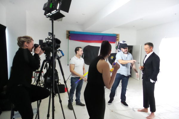 Directing Photo shoot