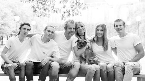 Family Portrait Siblings