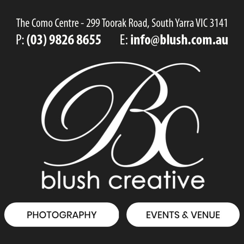 blush creative logo